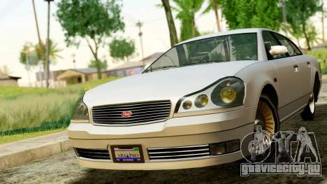 GTA 4 Intruder для GTA San Andreas вид справа