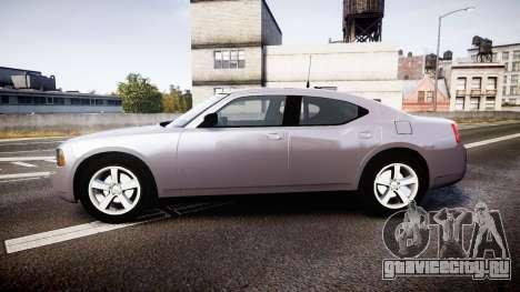 Dodge Charger Police Unmarked [ELS] для GTA 4 вид слева