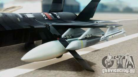 F-35B Polish Air Force 1. ELT для GTA San Andreas вид справа
