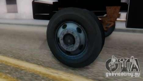 GMC Top Kick 88-95 для GTA San Andreas вид сзади слева