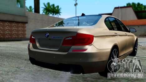 BMW M550d для GTA San Andreas вид слева