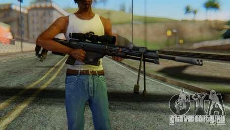 DSR50 Sniper Rifle для GTA San Andreas третий скриншот