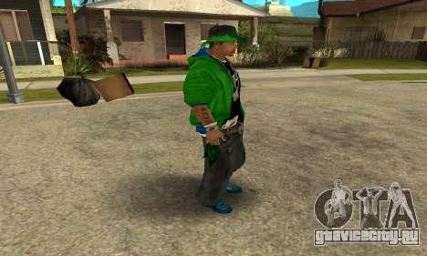 Groove St. Nigga Skin Second для GTA San Andreas четвёртый скриншот