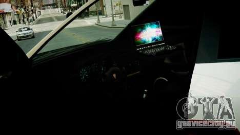 Subaru Impreza WRX STI Police для GTA 4 вид сзади