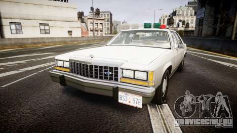 Ford LTD Crown Victoria 1987 Detective [ELS] для GTA 4