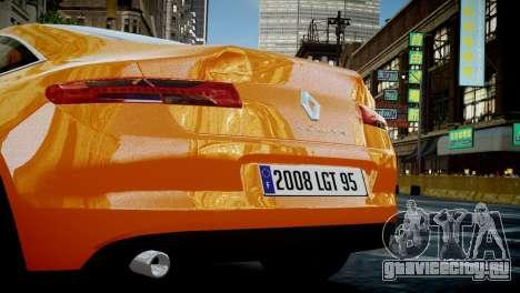 Renault Laguna Coupe для GTA 4 вид справа
