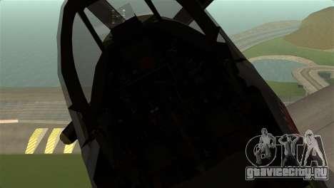 P-51D Mustang для GTA San Andreas вид справа