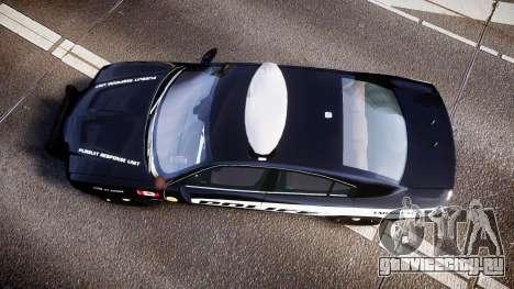 Dodge Charger Alderney Police для GTA 4 вид справа