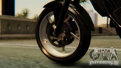 Bajaj Rouser 135 для GTA San Andreas вид сзади слева