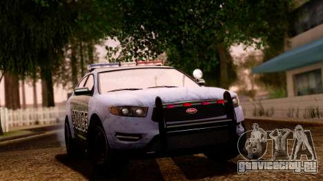 GTA 5 Vapid Police Interceptor v2 SA Style для GTA San Andreas