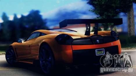 Pegassi Osiris from GTA 5 для GTA San Andreas вид слева