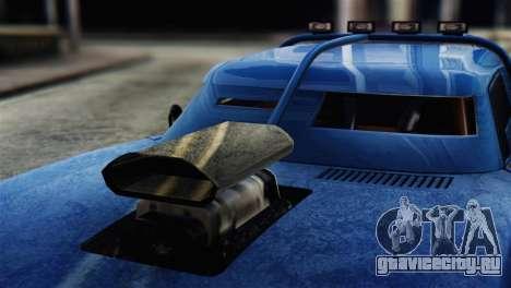 GTA 5 Imponte Dukes ODeath для GTA San Andreas вид справа