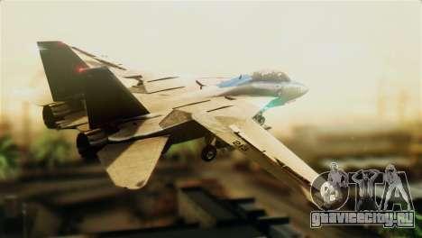 F-14D VF-213 Black Lions для GTA San Andreas вид слева