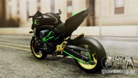 Kawasaki Z800 Modified для GTA San Andreas вид слева