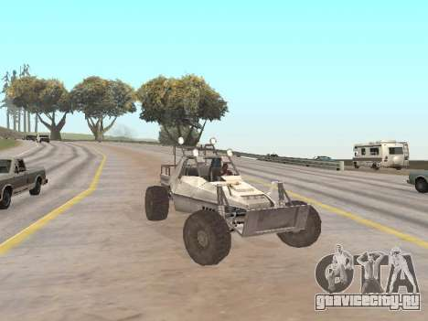 Buggy from Just Cause для GTA San Andreas вид справа