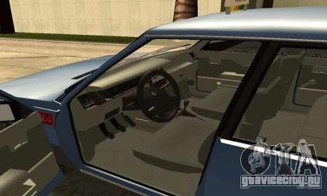 Renault 11 TXE Taxi для GTA San Andreas вид сбоку