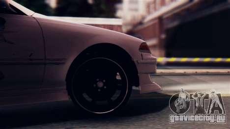 Toyota Mark 2 100 для GTA San Andreas вид сзади