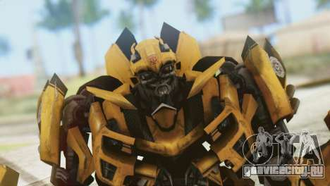 Bumblebee Skin from Transformers v2 для GTA San Andreas