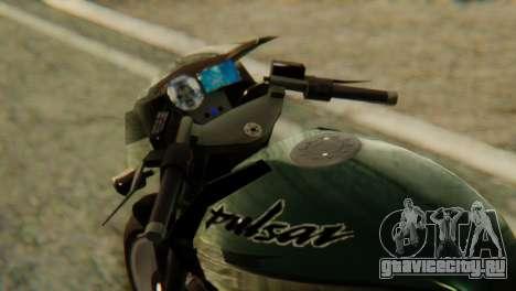 Bajaj Rouser 135 для GTA San Andreas вид справа