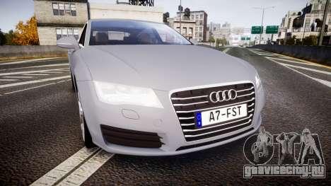 Audi A7 для GTA 4