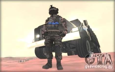 BF3 Soldier для GTA San Andreas