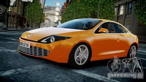 Renault Laguna Coupe для GTA 4 вид изнутри
