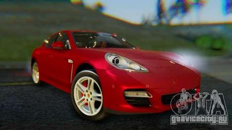 Porsche Panamera Turbo 2010 для GTA San Andreas