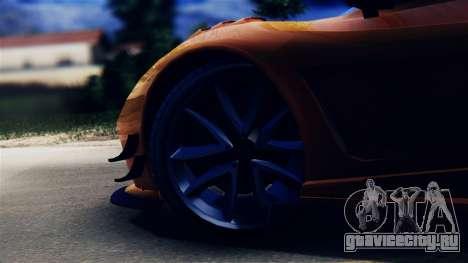 Pegassi Osiris from GTA 5 для GTA San Andreas вид сзади