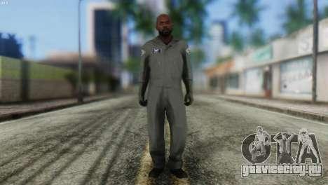 Pilot Skin from GTA 5 для GTA San Andreas
