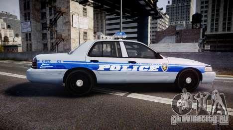 Ford Crown Victoria Liberty Police [ELS] для GTA 4 вид слева