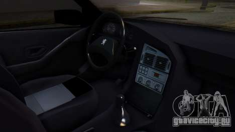 Peugeot 405 GLX Police для GTA San Andreas вид справа