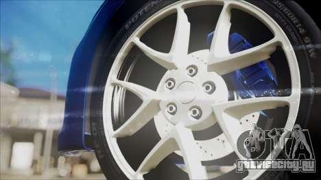Nissan Maxima 2009 для GTA San Andreas вид справа