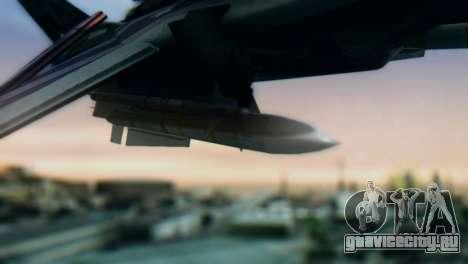 F-14D Azusa Miura The Idolmaster для GTA San Andreas вид справа