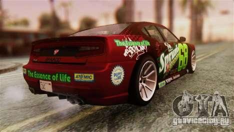 GTA 5 Bravado Buffalo Sprunk HQLM для GTA San Andreas вид слева