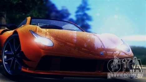 Pegassi Osiris from GTA 5 для GTA San Andreas вид сзади слева