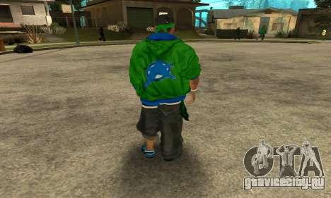 Groove St. Nigga Skin Second для GTA San Andreas третий скриншот