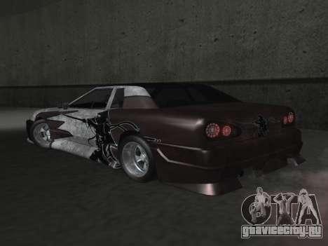 Elegy Paintjobs для GTA San Andreas вид сверху