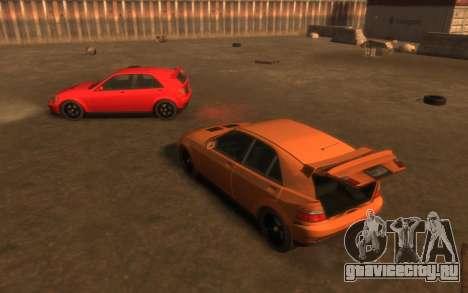 Karin Sultan Hatchback v2 для GTA 4 вид сбоку