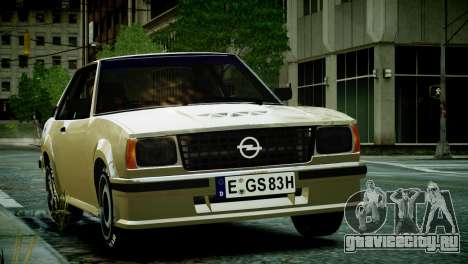 Opel Ascona B для GTA 4