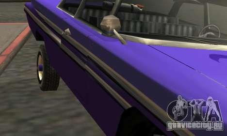 Luni Voodoo Remastered для GTA San Andreas вид сверху