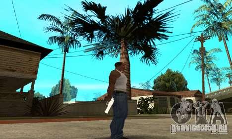 Metalic Deagle для GTA San Andreas третий скриншот