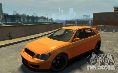 Karin Sultan Hatchback v2 для GTA 4
