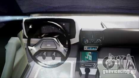 Ford Escort для GTA San Andreas вид сзади