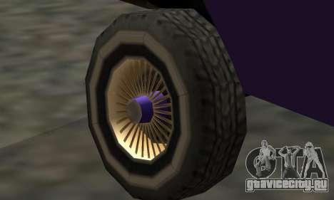 Luni Voodoo Remastered для GTA San Andreas вид сбоку