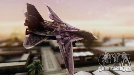 F-14D Azusa Miura The Idolmaster для GTA San Andreas вид слева