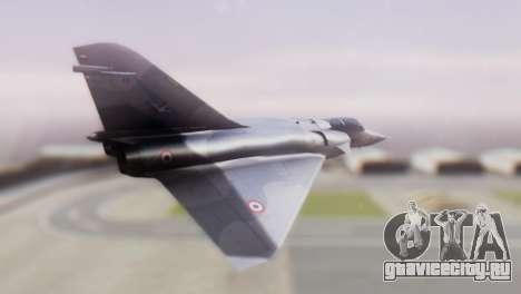 Dassault Mirage 4000 French Air Force для GTA San Andreas вид слева