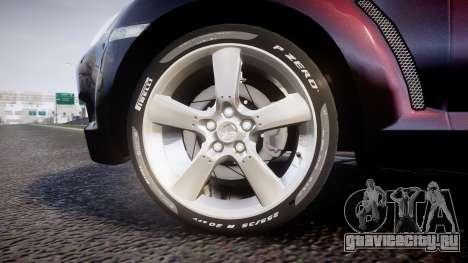 Mazda RX-8 2006 v3.2 Pirelli tires для GTA 4 вид сзади