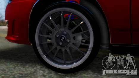 ВАЗ 2170 AMG для GTA San Andreas вид сзади слева