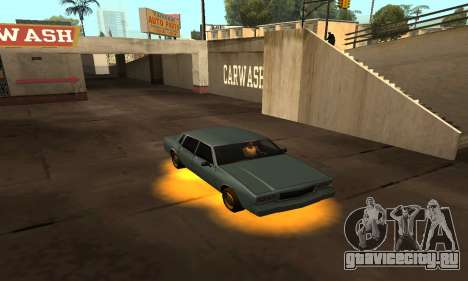 Cleo Neon для GTA San Andreas третий скриншот