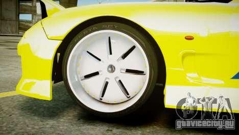 Mazda RX-7 FD3S BN Sports для GTA 4 вид сзади слева